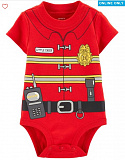Fireman Costume Collectible Bodysuit